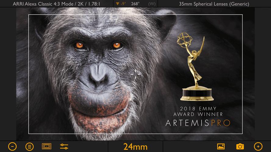Best Filmmaking Software iPhone iPad Artemis Pro