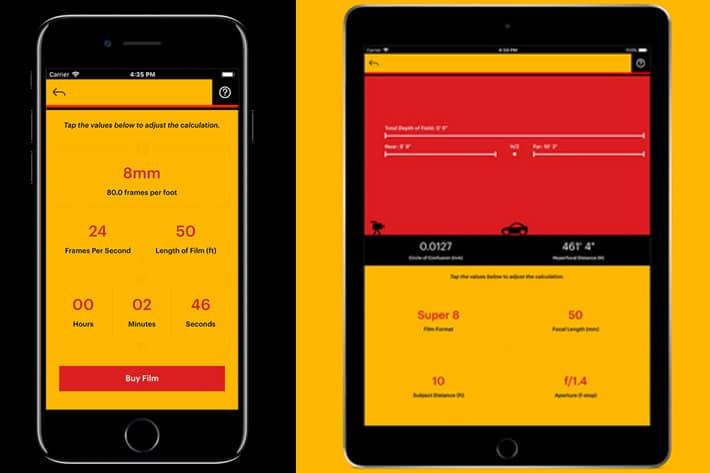 best-apps-for-filmmakers-kodak-cinema-tools