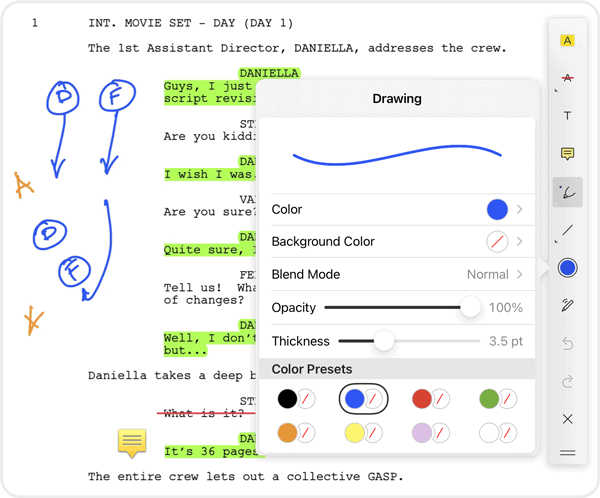 Scriptation-PDF-Paperless-Script-App-Film-TV_Annotate
