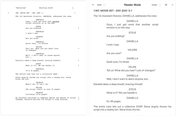 Scriptation-PDF-Paperless-Script-App-Film-TV_Reading-Interface