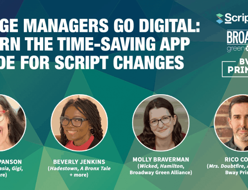 Webinar   Stage Managers Go Digital: Learn the Time-Saving App Made for Script Changes