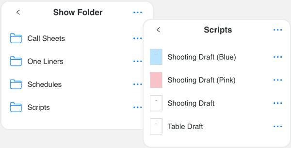 Scriptation-PDF-Paperless-Script-App-Film-TV_Organize